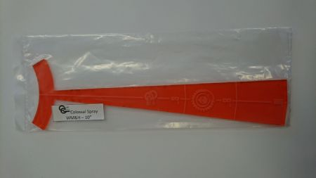 Colossal Spray WM&H - 10 inches - Transparent orange